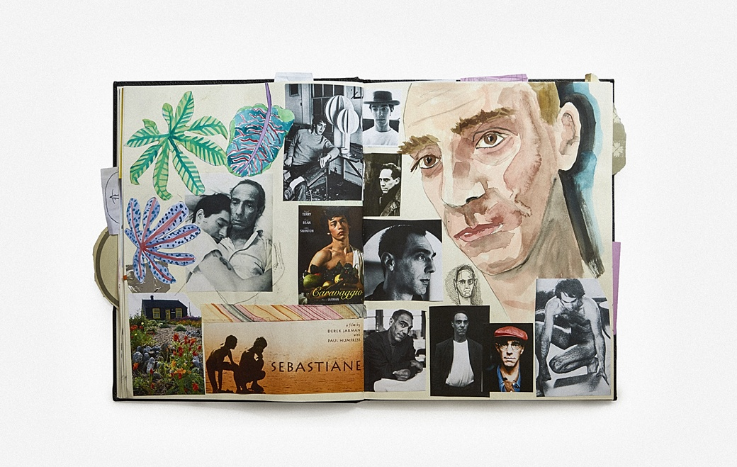 Derek Jarman Notebook