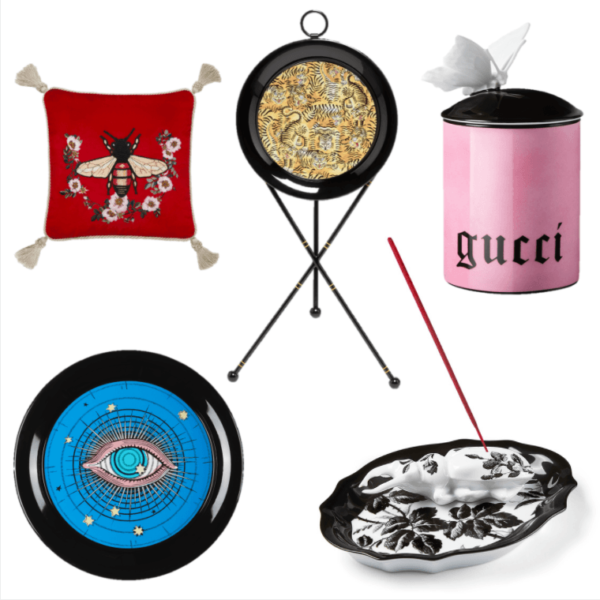 Gucci Decor Will Inevitably Be In Your Home