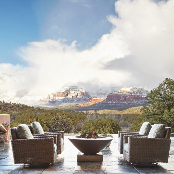 A Sedona Lot Becomes A Sanctuary On The Rocks