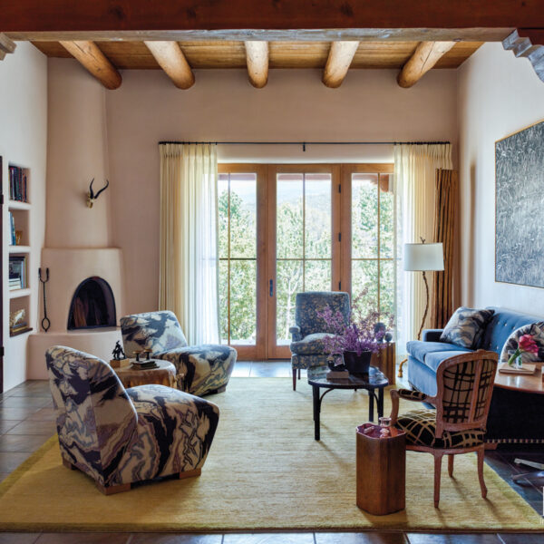 A City Couple Revamps A Pueblo-Style Home
