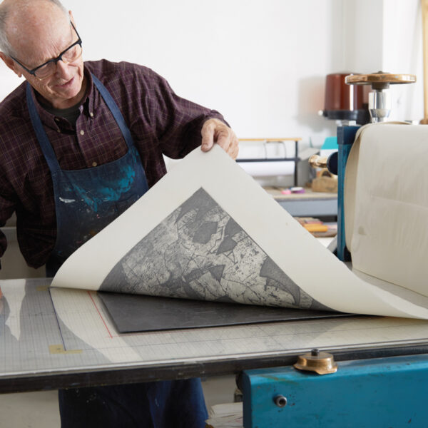 A Master Arizona Printmaker Turns Aluminum Into Art