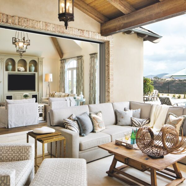 A San Diego Residence Gets A French Country Feel