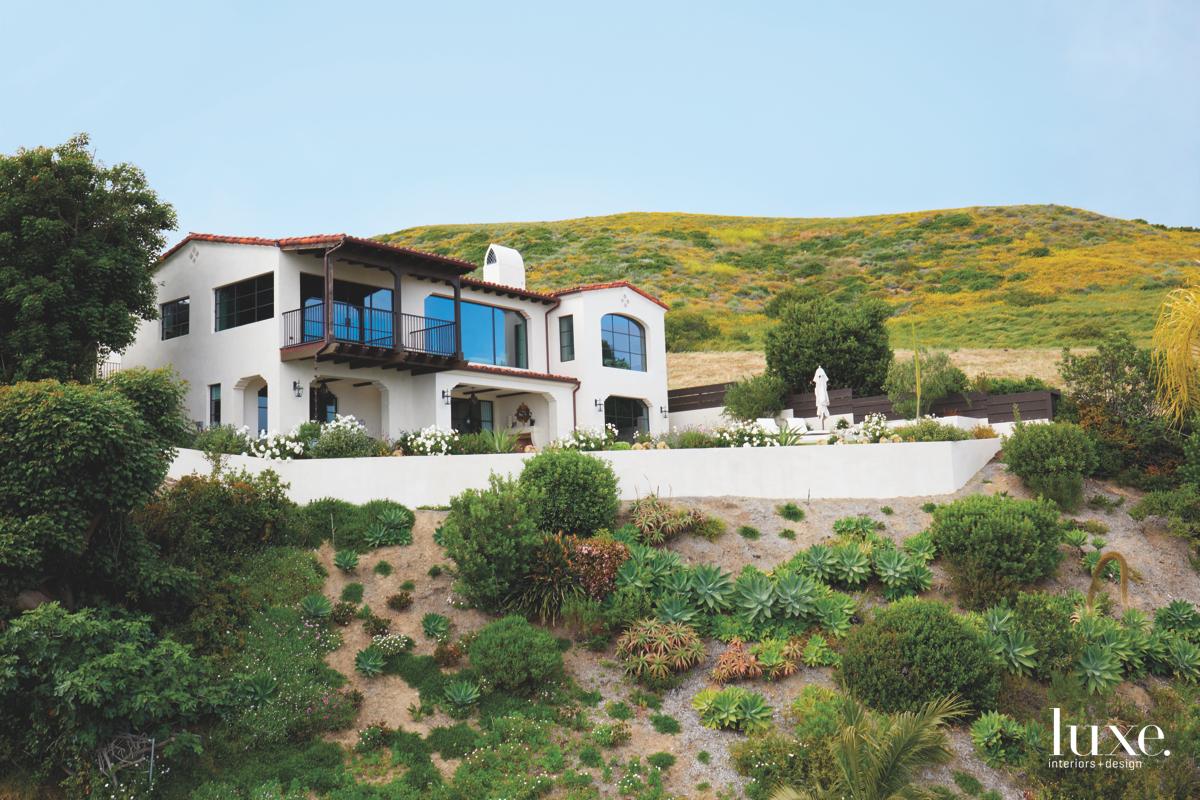 contemporary exterior landscape Laguna Beach...