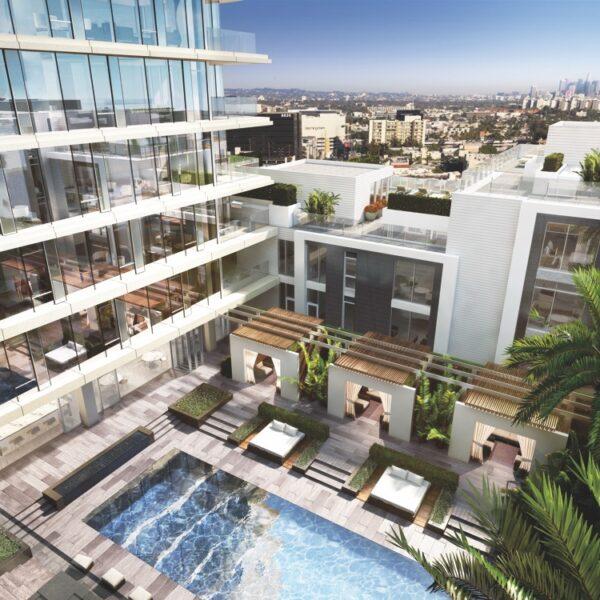 Luxury Living Nods To California Midcentury Design