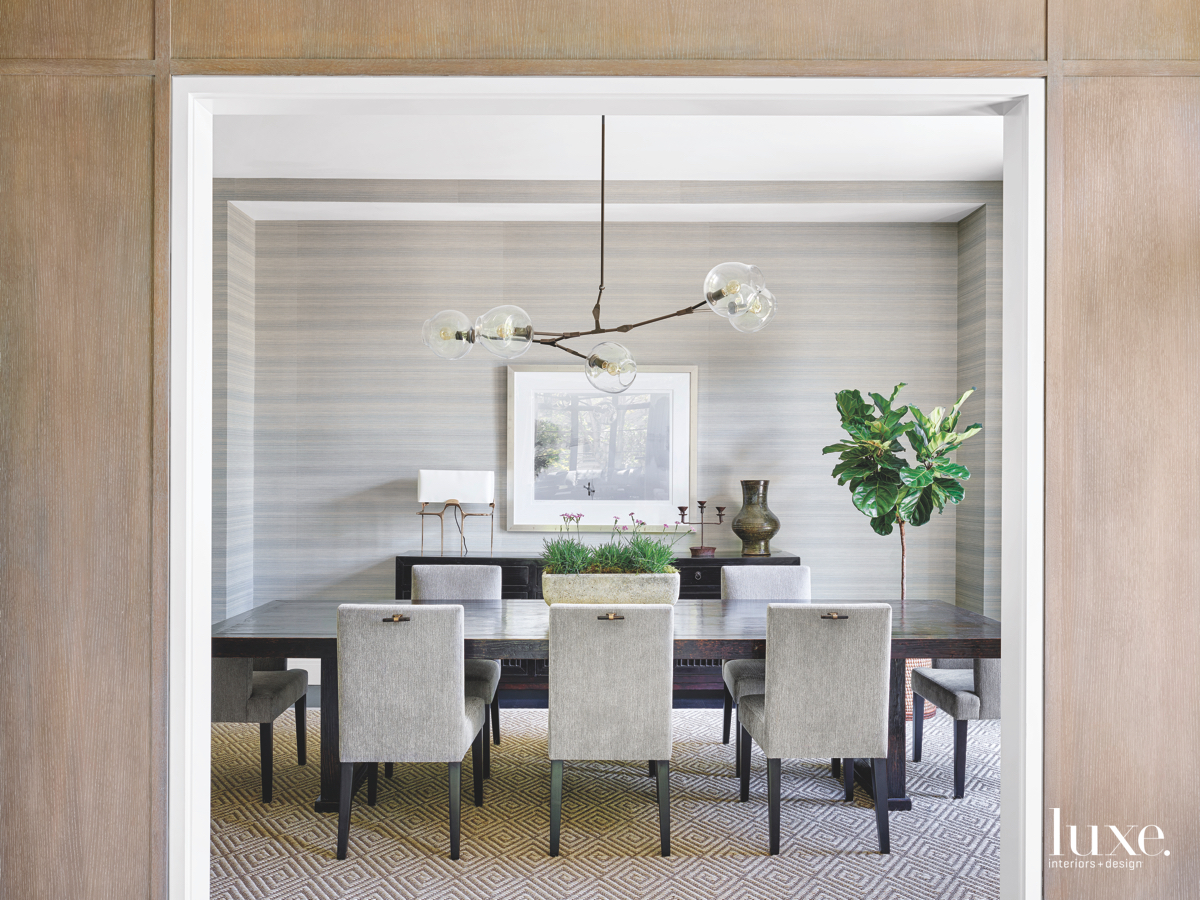 modern dining room light fixture...