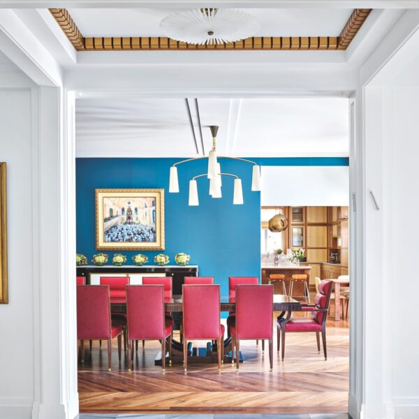 Tour A Chicago Art Deco Home With Gold Touches