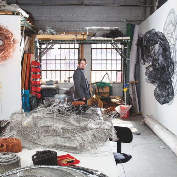 Eric Gushee Uses Reclaimed Materials In His Works