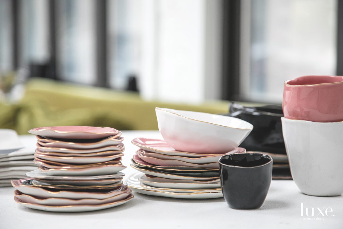 Chicago multimedia artist Laura Letinsky showcases the beauty of imperfection through her porcelain tableware.