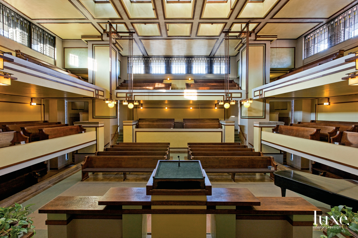"""alt=""""A Look At 4 Frank Lloyd Wright Spaces On A New Trail"""""""