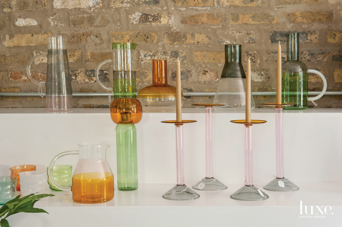 Glassware by Ichendorf is part of the curated selection of homewares offered at Field & Florist.