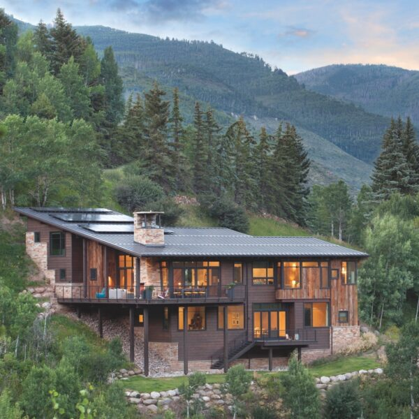 Nestled Near The Slopes, A Vail Home Reaches It Peak