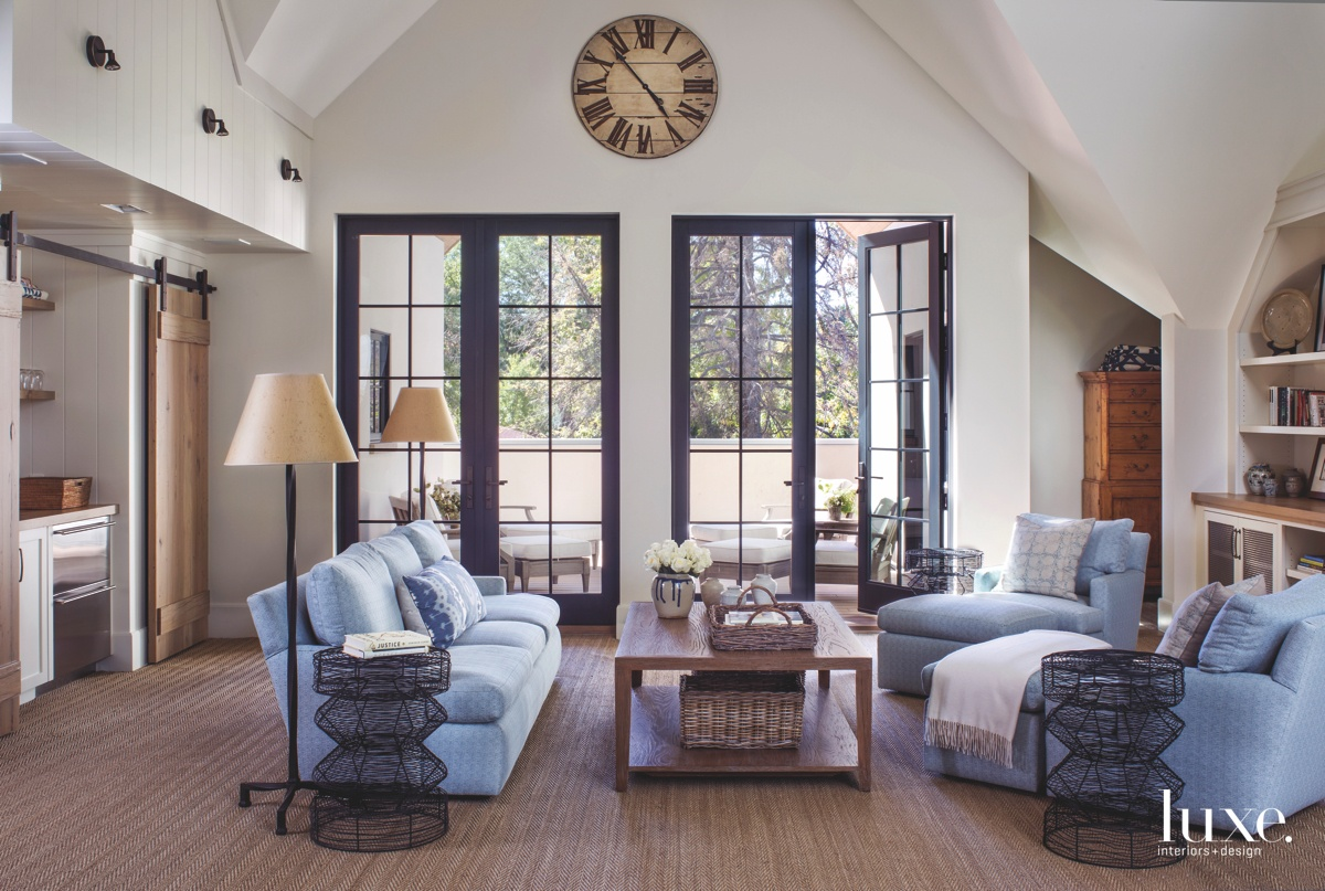 farmhouse family room pale blue...