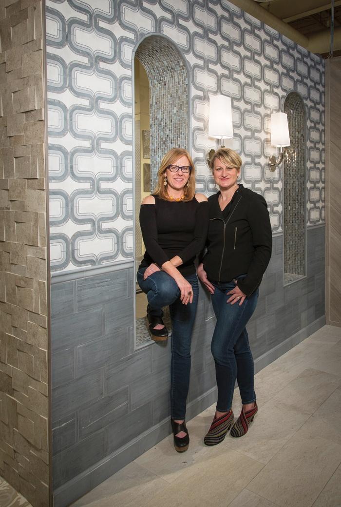 Katie Schroder and Erika Rundiks