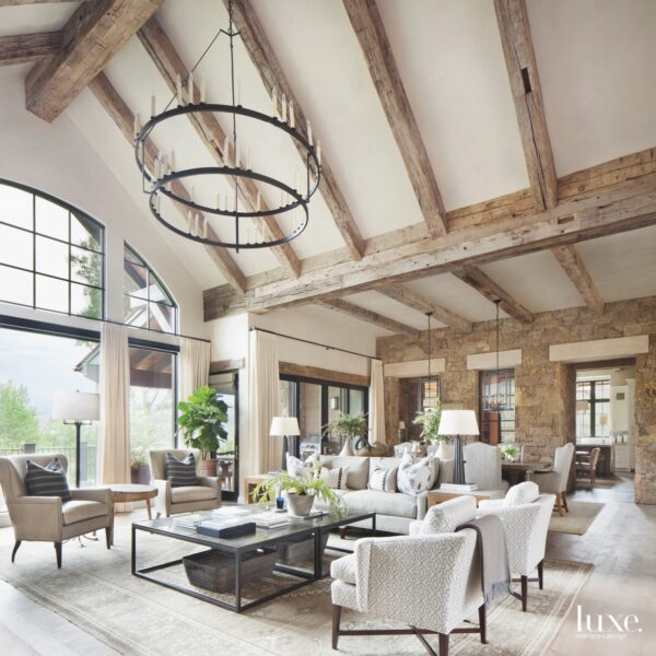 A Colorado Mountain Home Gets Elevated Charm