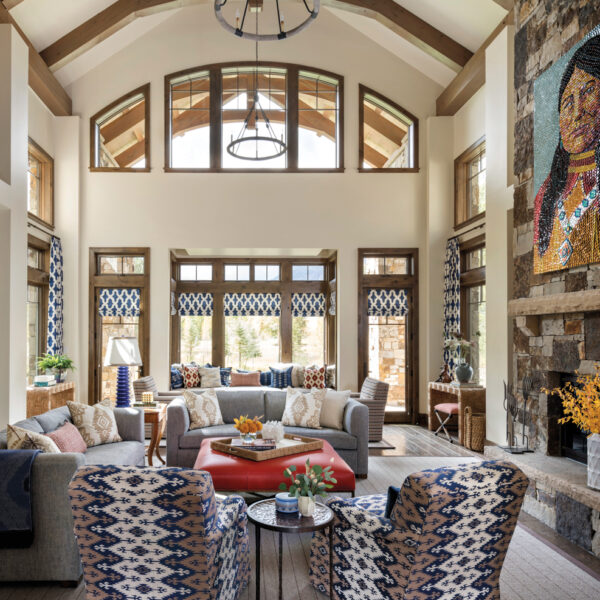 A Colorado Home Puts A Vivid Spin On Western Style