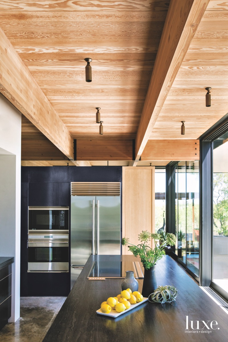 Behind The Design Of A Kitchen Inspired By Nature