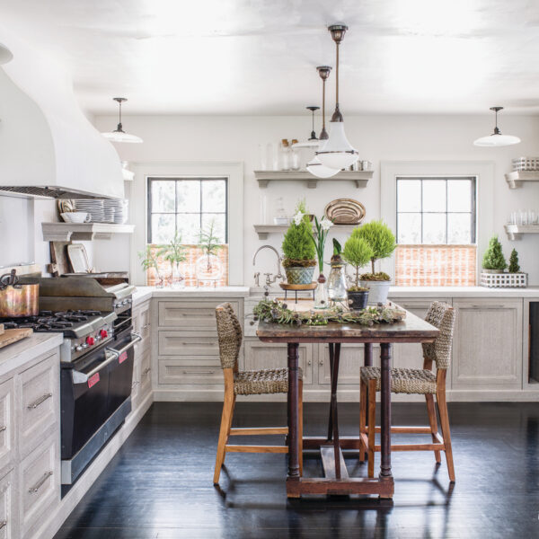 Behind The Kitchen Design For An Idyllic Maryland Home