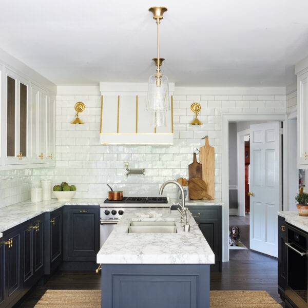 A Kitchen Remodel Results In This Bright, Inviting Space