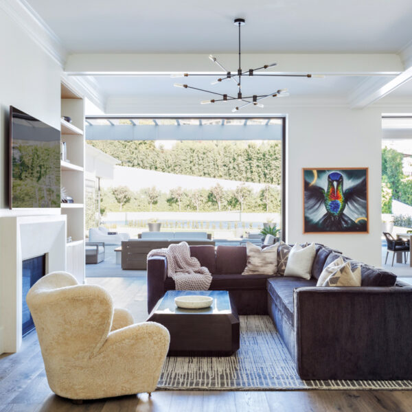 Comfort Meets Glam Inside A Football Great's L.A. Home