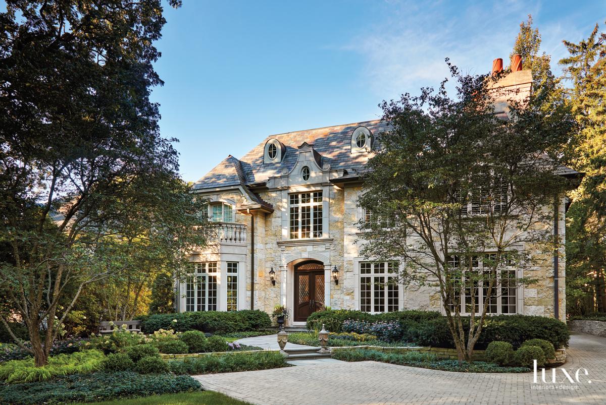 european-style home exterior