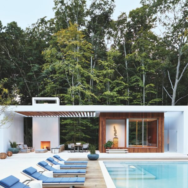 Pool Houses In The Hamptons Are Getting An Upgrade
