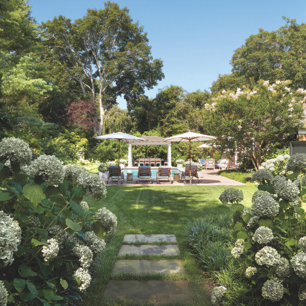 Lush Gardens Surround An East Hampton Abode
