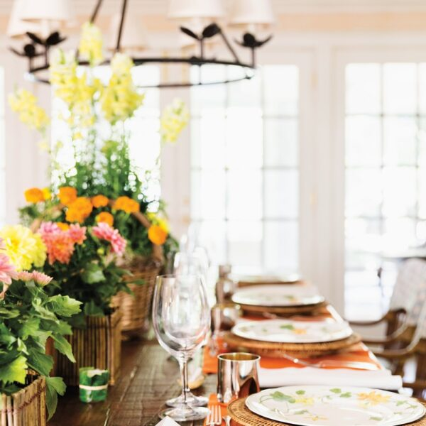 Charlotte Moss Shares Tips For A Hamptons Gathering