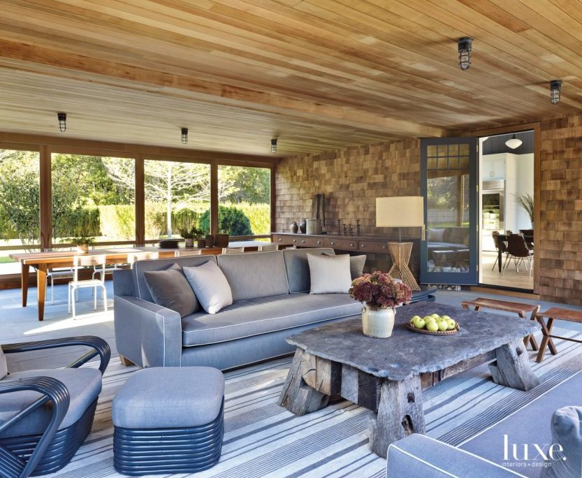 A Hamptons Home Appears To Have Evolved Over Time