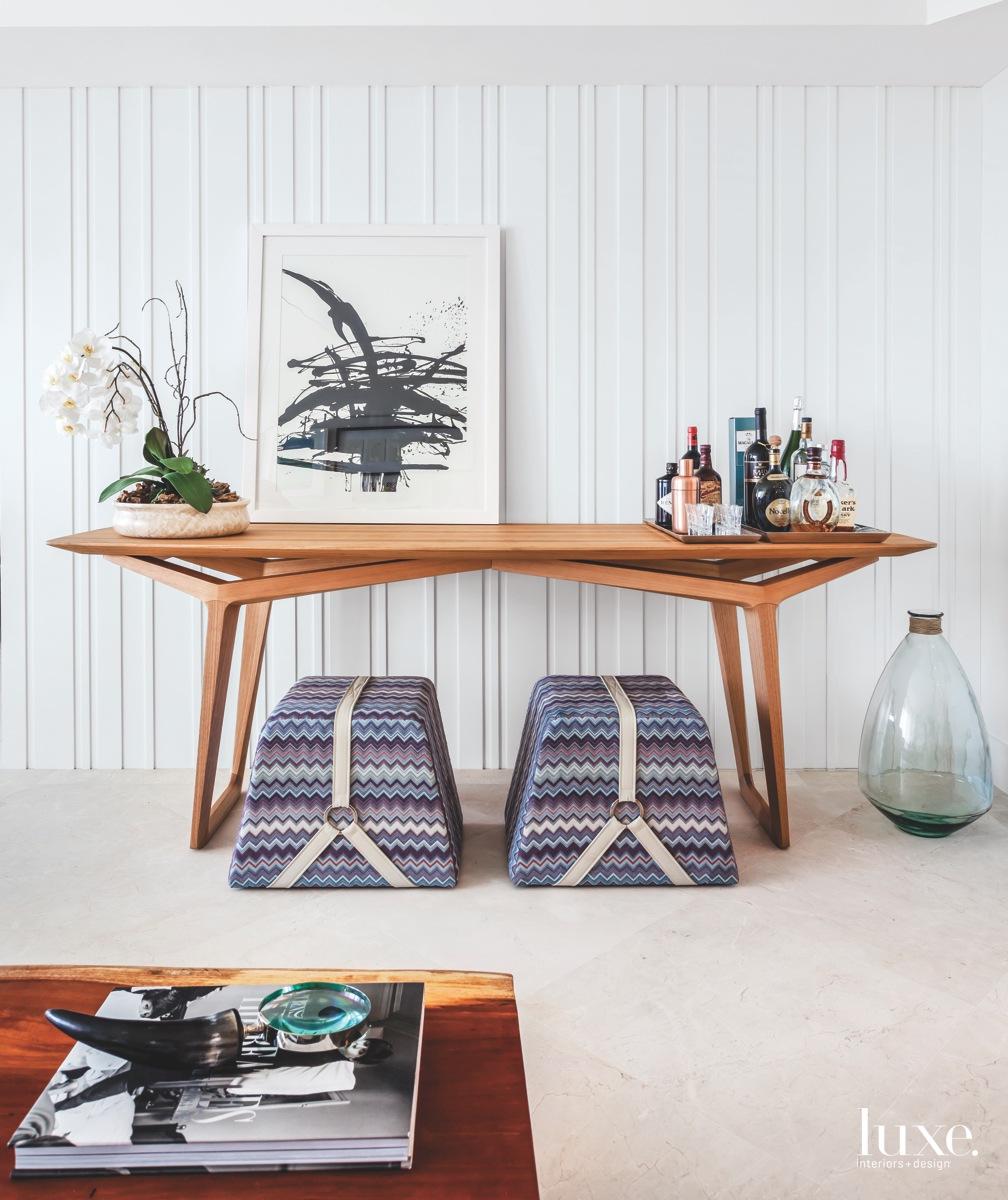 modern living room textured panel...