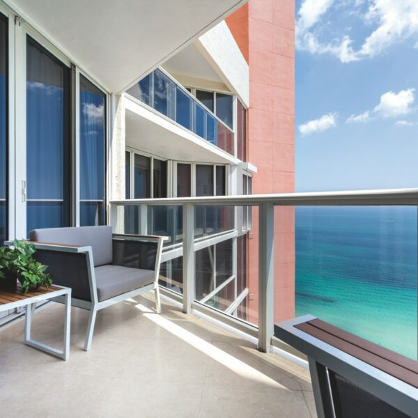 Stunning Views Set The Tone For A Sunny Isles Condo