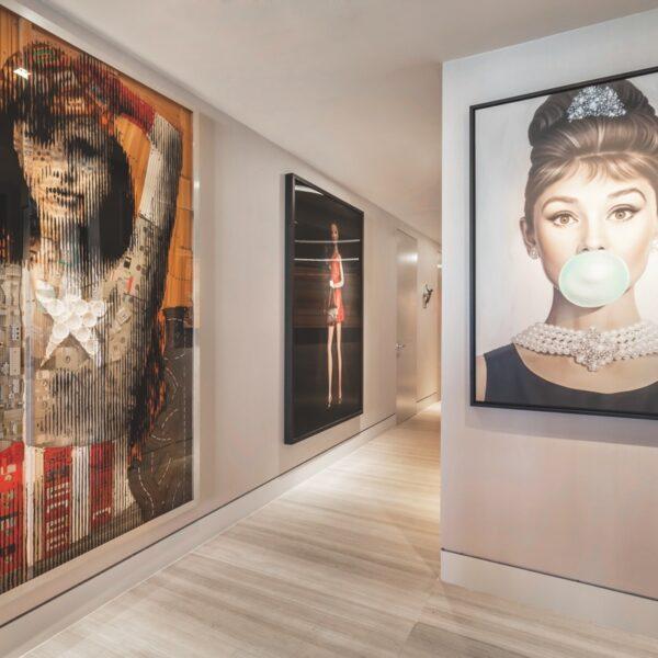 Art Takes The Spotlight In A South Beach Condo