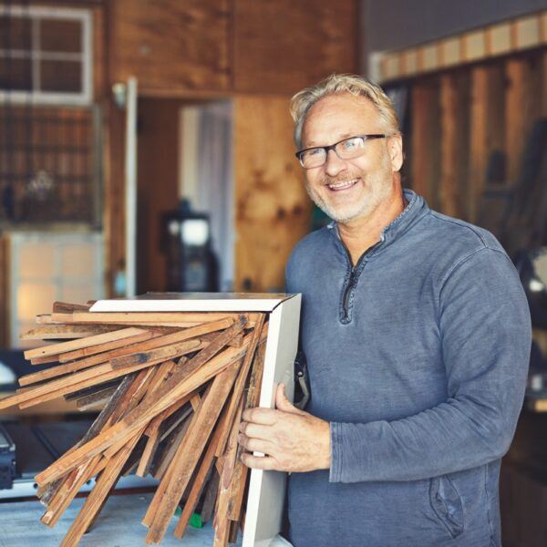 Rudi Repenning Gives New Life To Reclaimed Wood