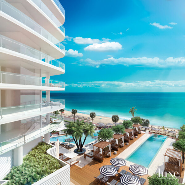 A New Luxury Condo Gives A Nod To Its Oceanfront Locale