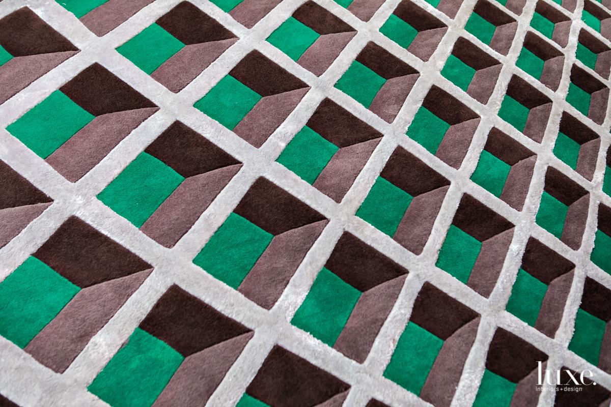 Barrios has also ventured into designing rugs.