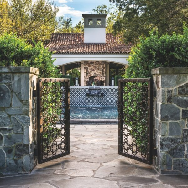 Mediterranean Influences Define A Dallas House