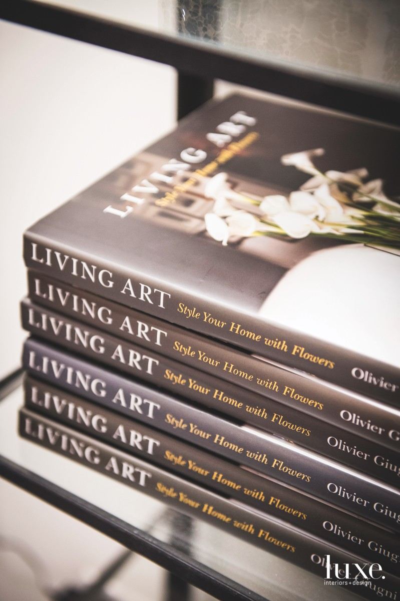 In his book, Living Art, Giugni showcases how art, furniture and design preferences guide his unique arrangements and instructs readers on how they can create their own spectacular floral designs.