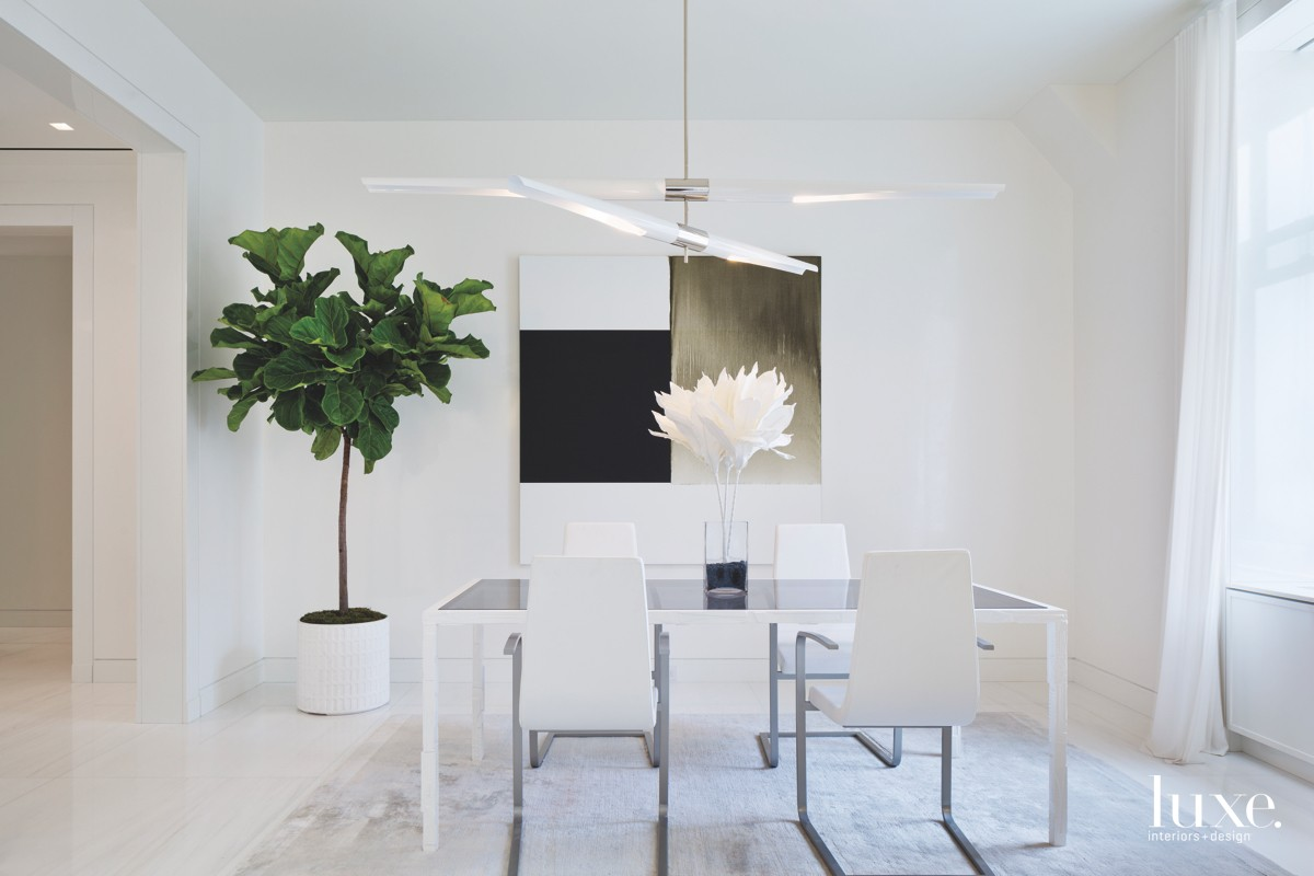 contemporary white dining room chandelier