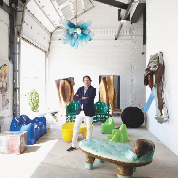 Art And Design Merge In Designer Jeff Lincoln's Gallery