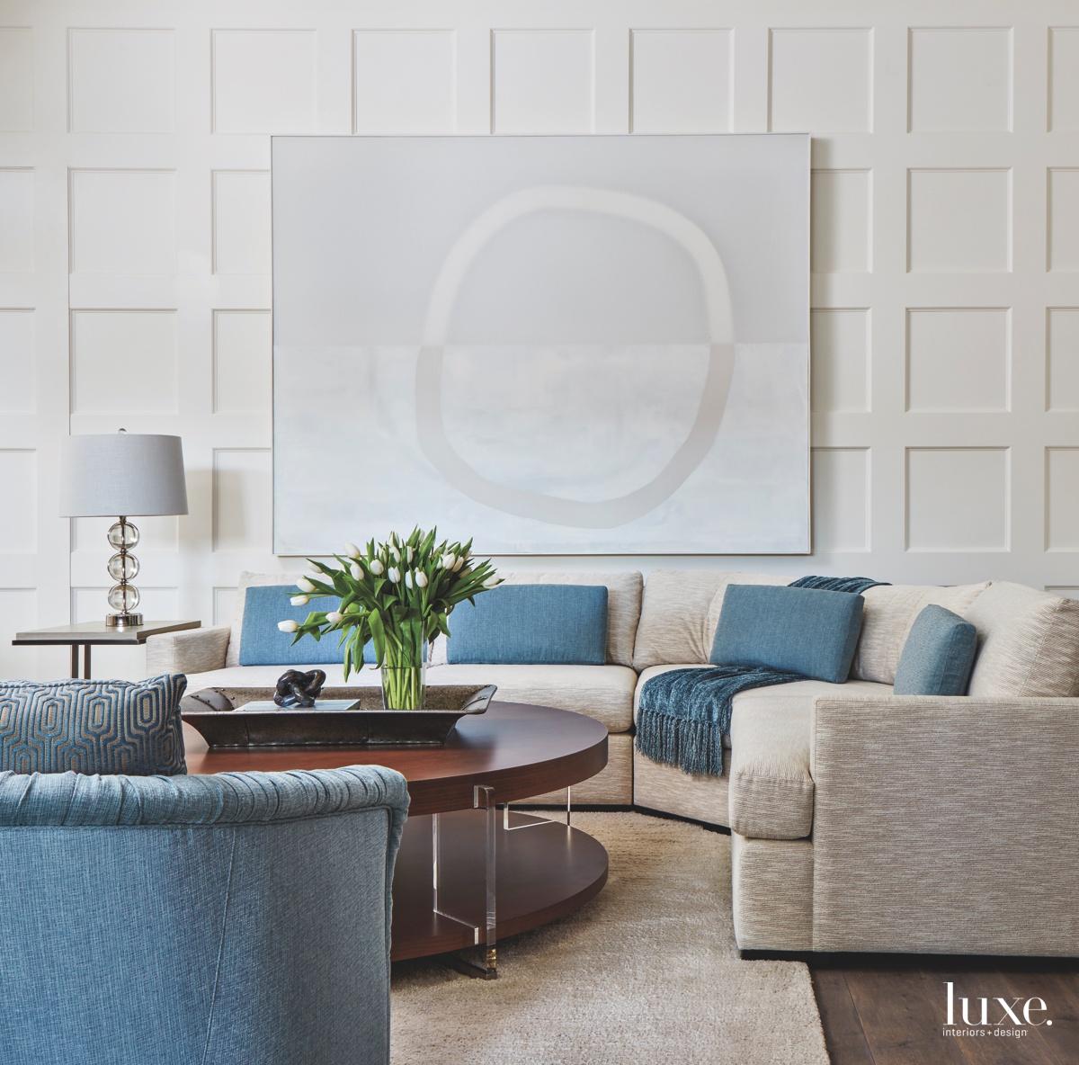 contemporary living room sectional sofa...