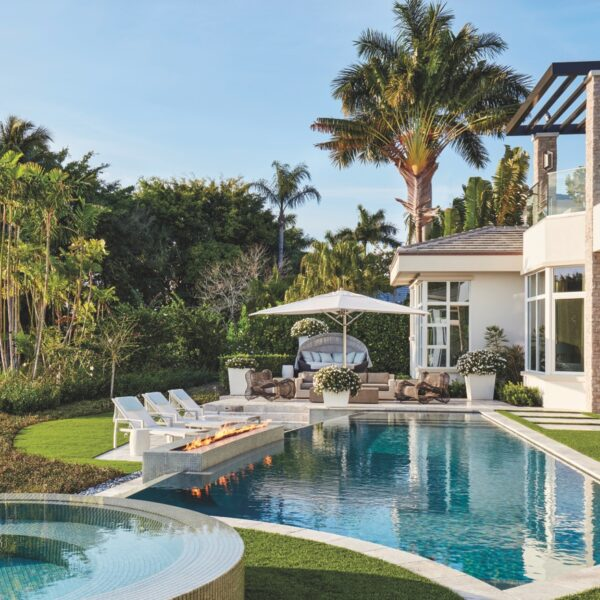 Bright, Airy Interiors Energize A Boca Raton Retreat