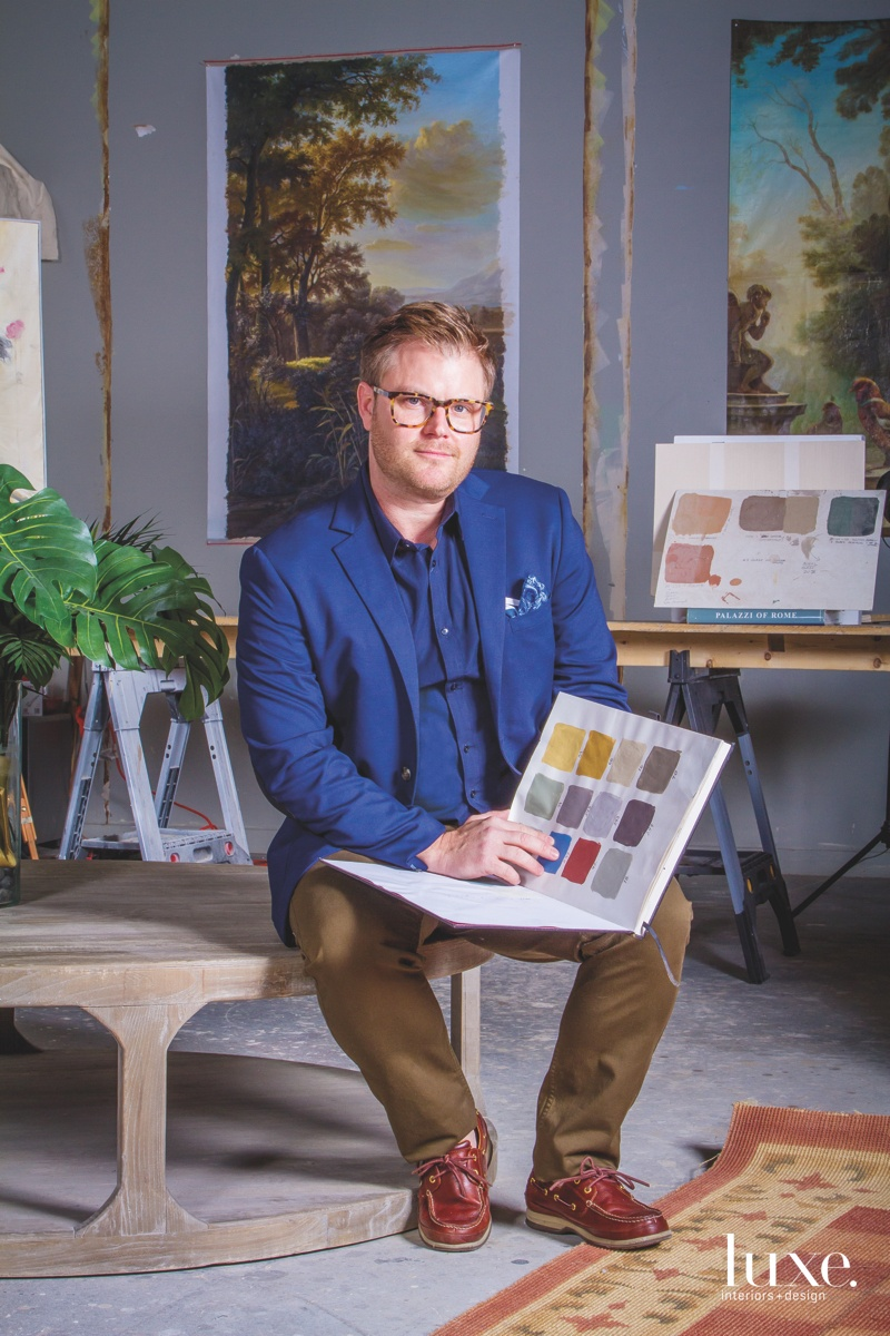 Richard Holton Makes His Mark On Historic Buildings Luxe Interiors Design Mark holton is an actor who portrayed chubby in the teen wolf too, sequel to the 1985 movie teen wolf. richard holton makes his mark on