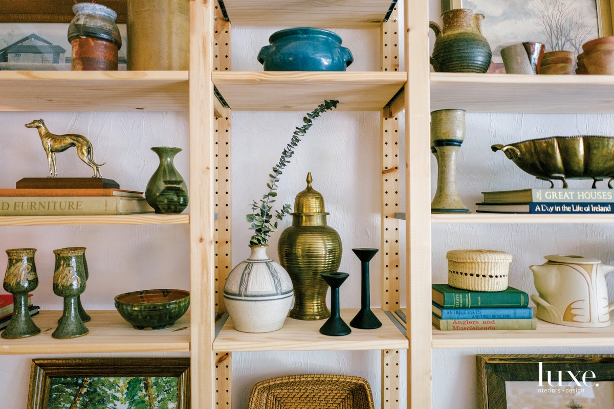Handmade pottery (above), antique oil paintings and hand-dyed textiles are just many of the pieces crafted by artisans throughout the world. One of the store's missions is to support businesses that help women living in suffering economies.