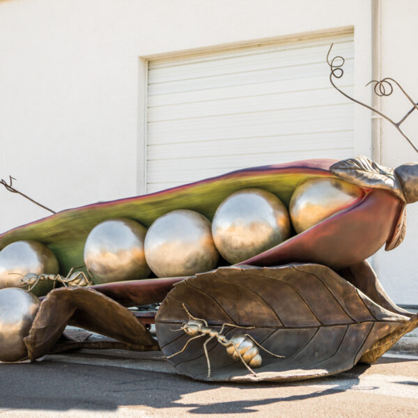 A Palm Beach Artist's Bronze Pieces Magnify A Bug's Life