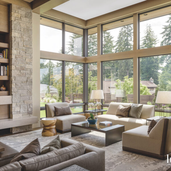Modern Meets Traditional At Pacific Northwest Property