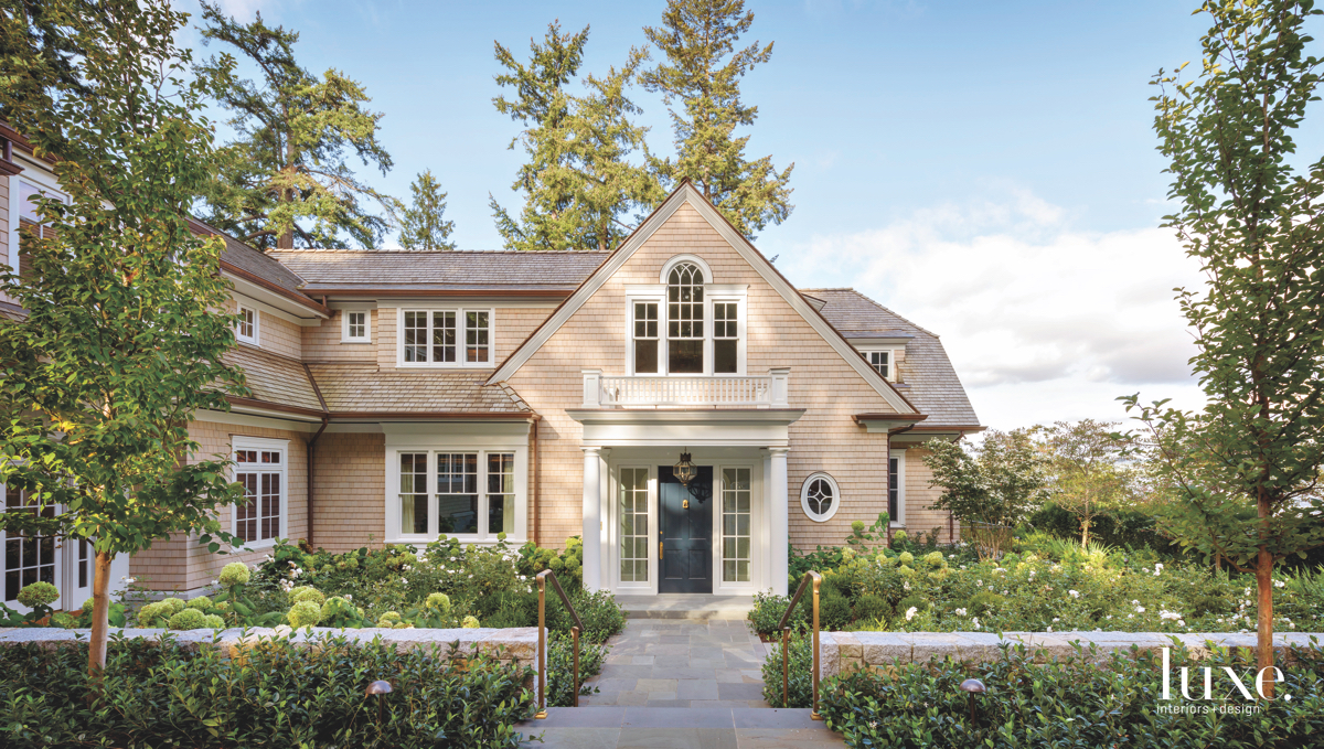 traditional neutral exterior