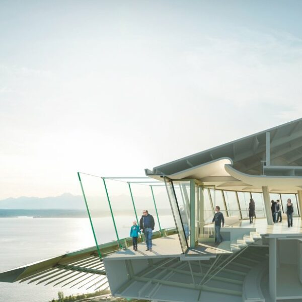 See The Skyline From Seattle's Space Needle