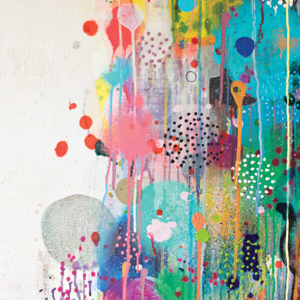 A Seattle Artist Celebrates Exploration With Bright Hues