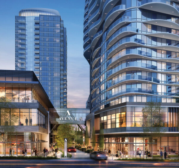 A Pair Of New Mixed-Use Towers Beckons In Bellevue