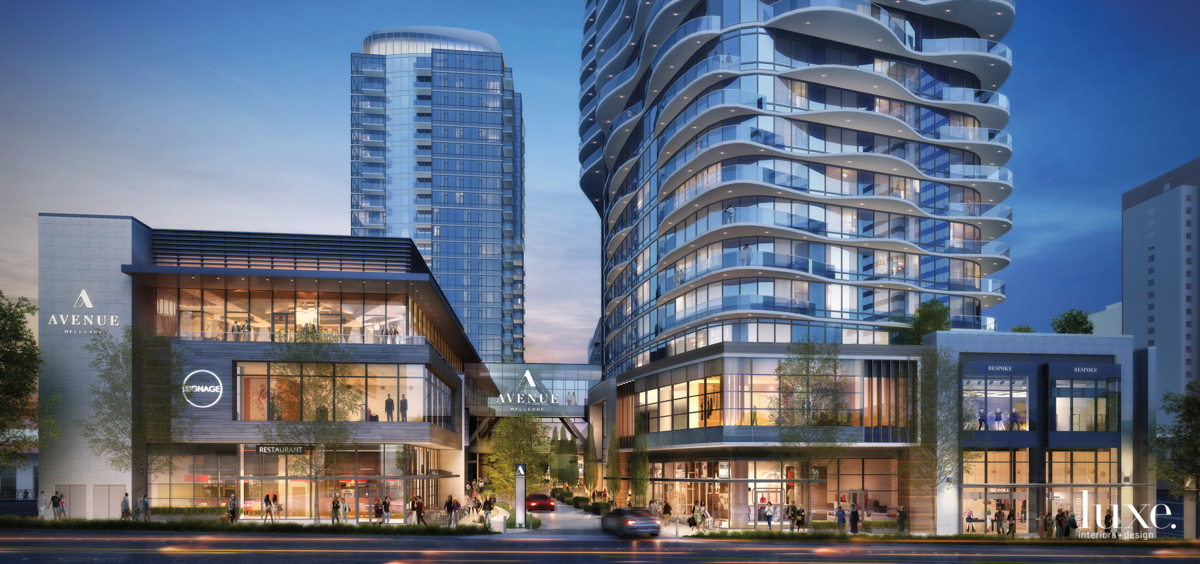 A Pair Of Novel Mixed-Use Towers Beckons In Bellevue