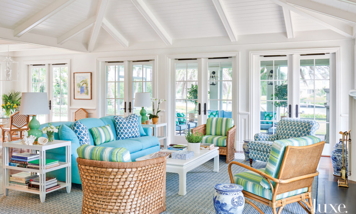 A Florida Home With Water Views Gets A Cheerful Look